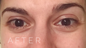 Clean Beauty Zero Waste Eye Makeup Remover After Picture